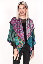 Circular Jacket #3 by Mieko Mintz  (One Size (2-16), Silk Jacket)