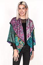 Circular Jacket #3 by Mieko Mintz  (One Size (2-16), Silk Jacket)