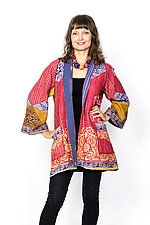 A-Line Jacket #1 by Mieko Mintz  (Size 1 (8-14), Cotton Jacket)