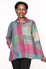 Back Flare Jacket #1 by Mieko Mintz  (One Size (2-14), Cotton Jacket)
