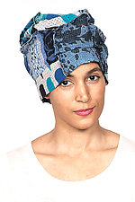 Patchwork Hat #1 by Mieko Mintz  (One Size, Cotton Hat)
