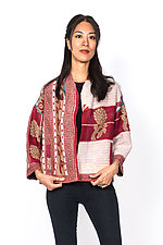 Cropped Jacket #13 by Mieko Mintz  (One Size (2-16), Cotton Jacket)