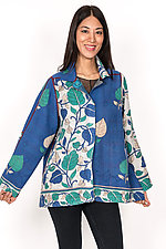 Back Flare Jacket #7 by Mieko Mintz  (One Size (2-14), Cotton Jacket)