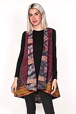 A-Line Vest #1 by Mieko Mintz  (One Size (6-12), Silk & Cotton Vest)