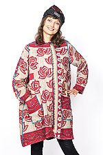 A-Line Duster #7 by Mieko Mintz  (One Size (2-14), Cotton Jacket)