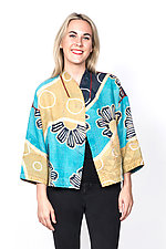 Cropped Jacket #6 by Mieko Mintz  (One Size (2-16), Cotton Jacket)