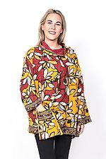 Cowl Collar Tunic #8 by Mieko Mintz  (One Size (4-16), Cotton Tunic)