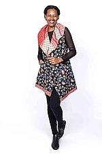 Circular Vest #3 by Mieko Mintz  (Size 1 (4-14), Cotton Vest)