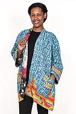 A-Line Jacket #2 by Mieko Mintz  (Size M/L (6-14), Cotton Jacket)