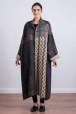 Oversized Coat #2 by Mieko Mintz (Cotton Coat, O/S (4-16))