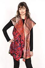 Circular Vest #3 by Mieko Mintz  (Size 1 (2-12), Silk Vest)