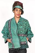 Cropped Jacket #8 by Mieko Mintz  (One Size (2-16), Cotton Jacket)
