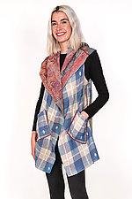 Circular Vest #2 by Mieko Mintz  (Size 1 (2-12), Silk & Cotton Vest)