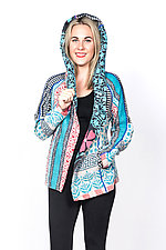 Hoodie Jacket #2 by Mieko Mintz  (Medium (6-8), Cotton Jacket)