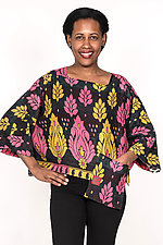 Cropped Top #1 by Mieko Mintz  (One Size (6-16), Cotton Top)