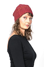 Patchwork Hat #2 by Mieko Mintz  (Cotton Hat)