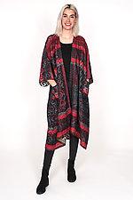 Kimono Maxi #1 by Mieko Mintz  (One Size (2-16), Cotton Coat)