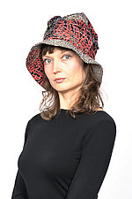 Full Brim Hat #2 by Mieko Mintz  (Cotton Hat)