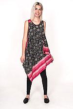 Tank Flare Dress #1 by Mieko Mintz  (Size S (4-8), Cotton Dress)
