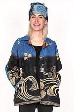 Back Flare Jacket #2 by Mieko Mintz  (One Size (2-14), Cotton Jacket)
