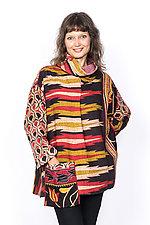 Cowl Collar Tunic #2 by Mieko Mintz  (One Size (4-16), Cotton Tunic)