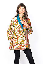 Flare Long Jacket #4 by Mieko Mintz  (Medium (8-10), Cotton Jacket)