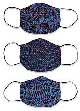 Kantha Face Masks, Set of 3 by Mieko Mintz (Reusable Face Masks)