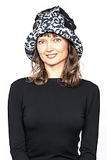 Full Brim Hat #3 by Mieko Mintz  (Cotton Hat)
