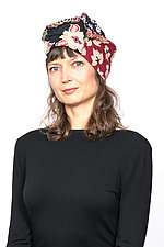 Patchwork Hat #6 by Mieko Mintz  (Cotton Hat)