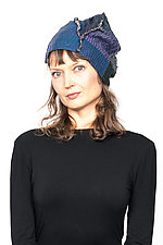 Patchwork Hat #7 by Mieko Mintz  (Cotton Hat)