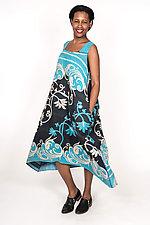 Tent Dress #7 by Mieko Mintz  (Size L (16-18), Cotton Dress)