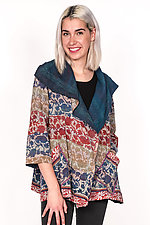 Flare Jacket #2 by Mieko Mintz  (One Size (2-14), Silk & Cotton Jacket)