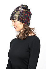 Patchwork Hat #3 by Mieko Mintz  (Cotton Hat)