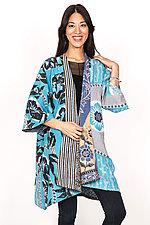 Kimono Duster #2 by Mieko Mintz  (One Size (2-16), Cotton Coat)