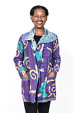 Pocket Jacket #5 by Mieko Mintz  (One Size (2-14), Cotton Jacket)