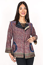 Short Jacket #1 by Mieko Mintz  (Size M (6-8), Cotton Jacket)