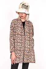 High-Neck Topper #1 by Mieko Mintz  (One Size (6-14), Cotton Jacket)