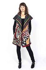 Circular Vest #1 by Mieko Mintz  (Size 1 (4-14), Cotton Vest)