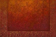 Radient Textures Series 09 by Wolfgang Gersch (Giclee Print on Aluminum)