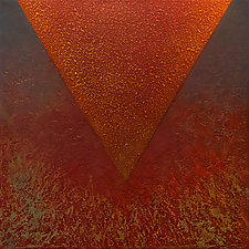 Light from Above 03 by Wolfgang Gersch (Mixed-Media Painting & Giclee Print on Aluminum)