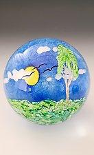 Sunny Day by Mayauel Ward (Art Glass Paperweight)