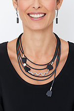 Misty Black Jewelry by Dagmara Costello (Rubber Jewelry)