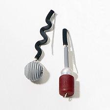 Spiced Vine Earrings by Dagmara Costello (Mixed Media Earrings)
