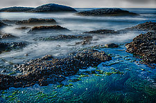 Foggy Waters by Lori Pond (Color Photograph)