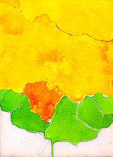 Bloom in Orange by Joan Gold (Giclee Print)