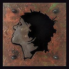 Profile II by Paul Arsenault (Metal Wall Sculpture)