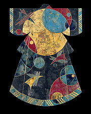 Birds in Space in Extra Large by Marcia Jestaedt (Giclee Print)