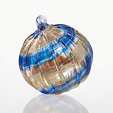 Moonbeam by Christian Turiello (Art Glass Ornament)