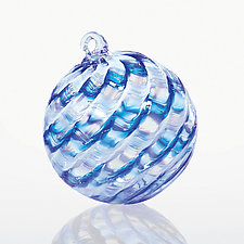 Cloud Nine by Christian Turiello (Art Glass Ornament)