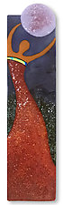 Contentment by Anne Nye (Art Glass Wall Sculpture)